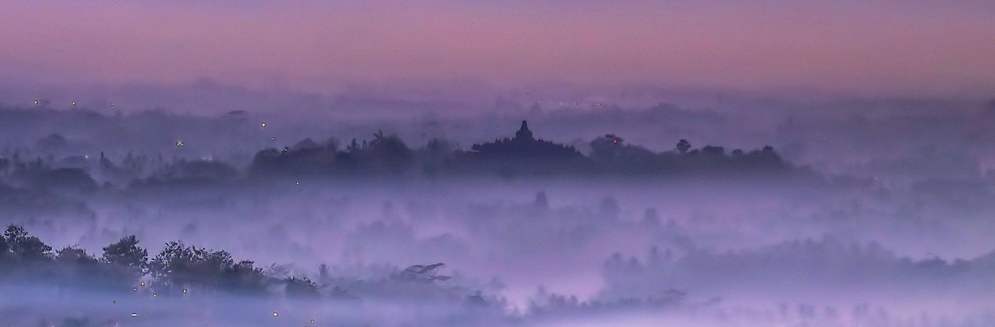 Borobudur Hill Sunrise