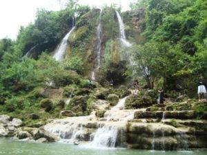スリゲトゥの滝